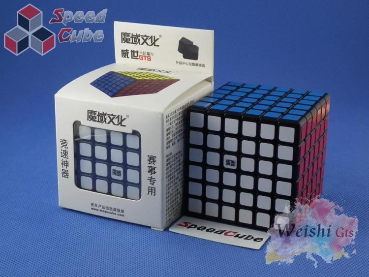 MoYu WeiChuang GTS 6x6x6 Czarna