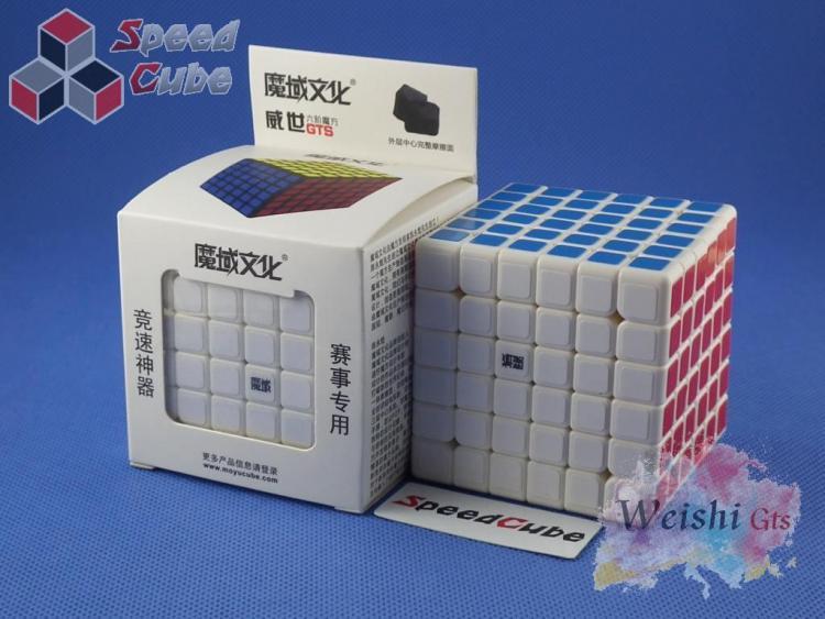 MoYu WeiShi GTS 6x6x6 Biała
