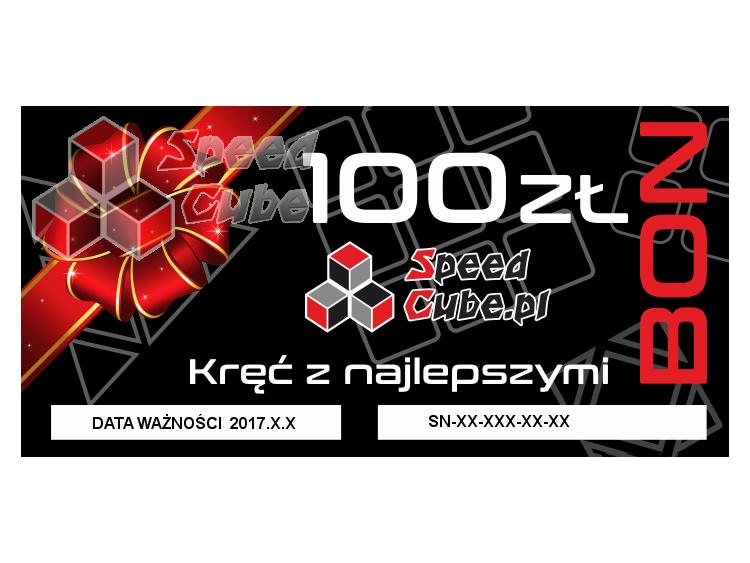Bon upominkowy do sklepu SpeedCube 100 PLN