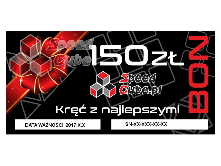 Bon upominkowy do sklepu SpeedCube 150 PLN