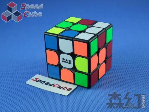 MoYu SenHuan Mars 3x3x3 Primary Body Black Cap
