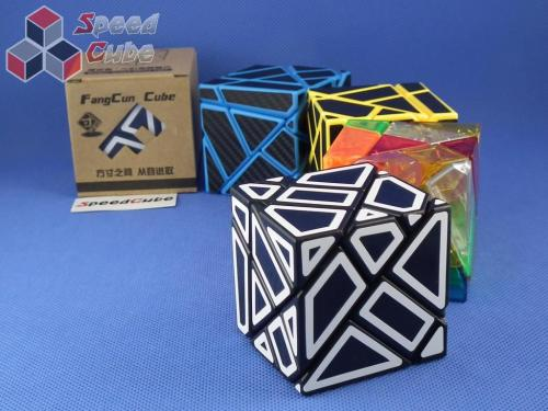 FangCun Ghost Cube Black Body White Hollow Stick.