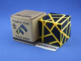 FangCun Ghost Cube Yellow Body Black Carbon Stick.