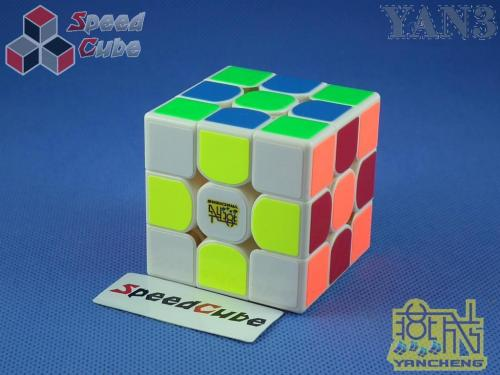 MoYu YanCheng Yan3 3x3x3 Biała