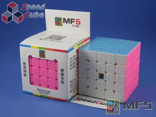 MoYu MoFang JiaoShi 5x5x5 MF5 Kolorowa PiNK