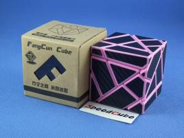 FangCun Ghost Cube Pink Body Black Carbon Stick.