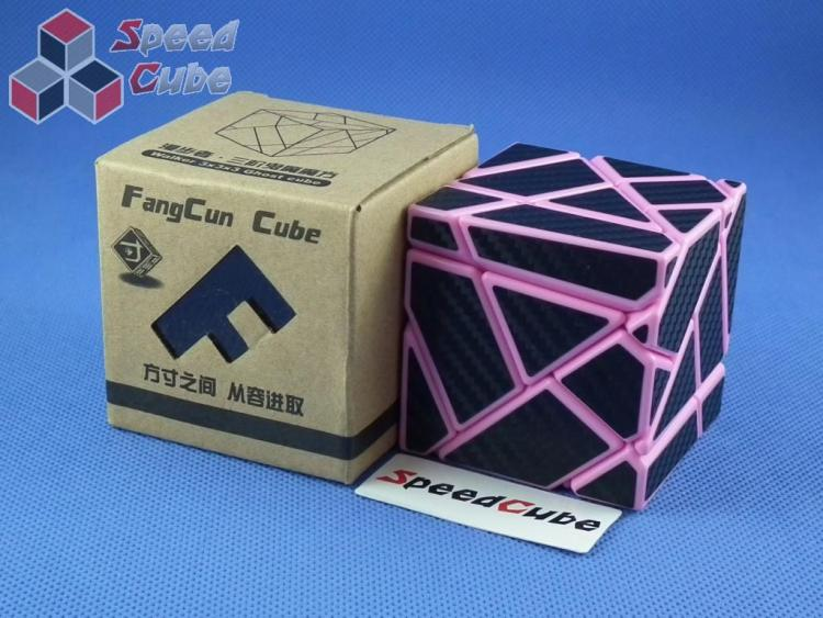 FangCun Ghost Cube Pink Body Black Carbon Stick.