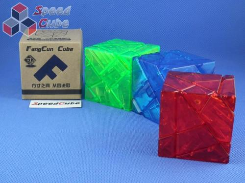 FangCun Ghost Cube Transparent Red Body