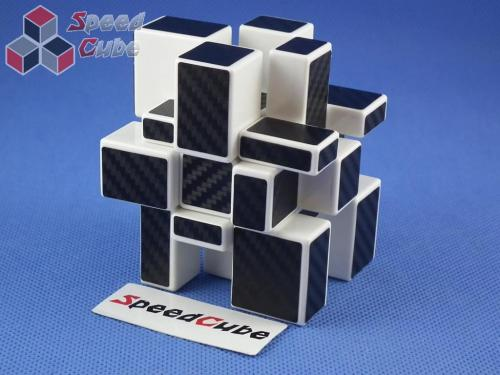 Cube StyleCube Style Mirror 3x3x3 White Body - CarBon stickers