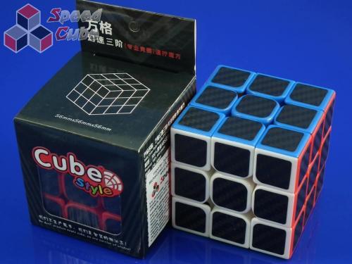Cube Style 3x3x3 Carbon Stick. 56 mm