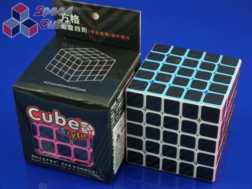 Cube Style 5x5x5 BenTeng Pink Carbon Stick.