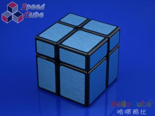 HelloCube Mirror Block 2x2 Blue Stickers