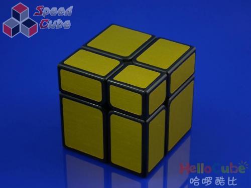 HelloCube Mirror Block 2x2 Golden Stickers