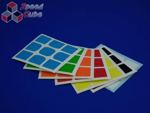 Naklejki 3x3x3 Halczuk Stickers YueXiao Half Bright