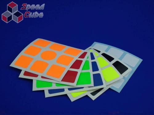 Naklejki 3x3x3 Halczuk Stickers Gans 356 Fluo Dark Blue