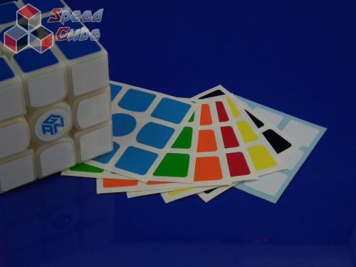 Naklejki 3x3x3 Halczuk Stickers Gans 356 Half Bright