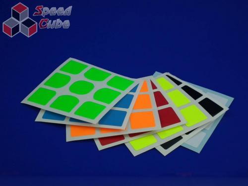 Naklejki 3x3x3 Halczuk Stickers YuXin Fluo