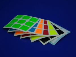 Naklejki 3x3x3 Halczuk Stickers WeiLong GTS Fluo