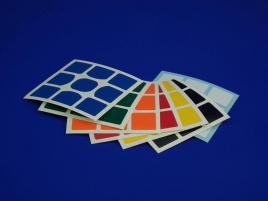 Naklejki 3x3x3 Halczuk Stickers WeiLong GTS Normal