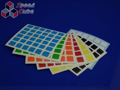 Naklejki 6x6x6 Halczuk Stickers AoShi Half Bright