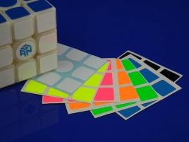 Naklejki 3x3x3 Z-Stickers GAN356 Full Bright