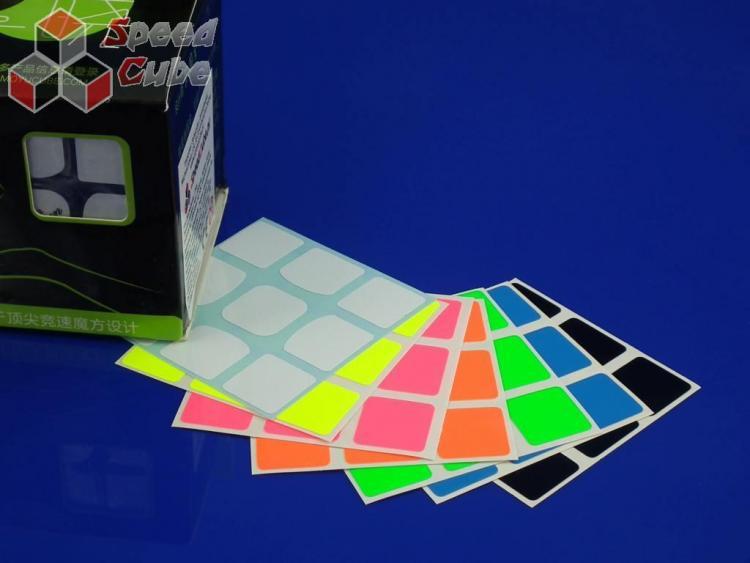 Naklejki 3x3x3 Z-Stickers YueXiao Full Bright