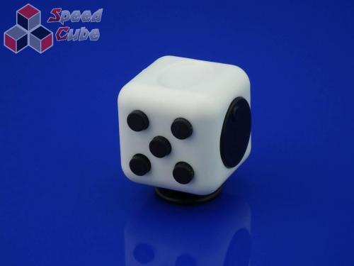 FidGet Cube - Kostka odstresowująca WH/BLACK