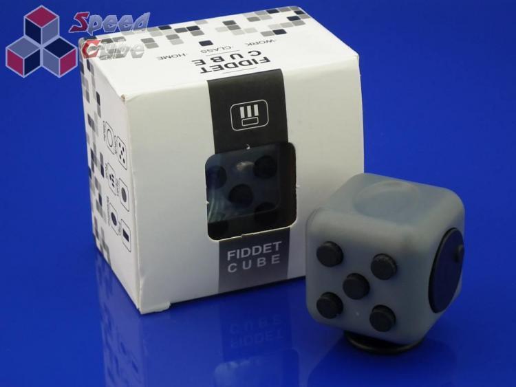 FidGet Cube - Kostka odstresowująca GR/BLACK