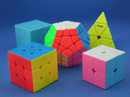 Z-Cube Five Cubes Set vol.2 Kolor