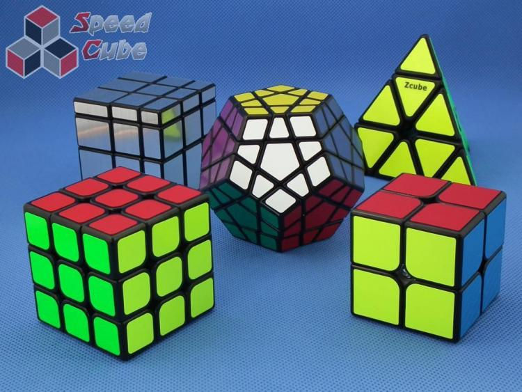 Z-Cube Five Cubes Set vol.1 Black