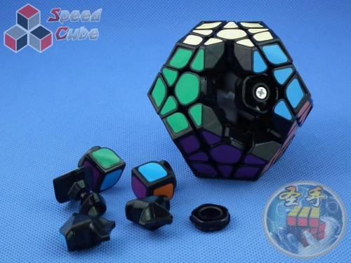ShengShou Pearl Megaminx Czarna