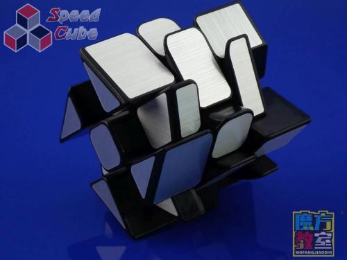 MoYu MoFang JiaoShi Windmill Mirror Silver