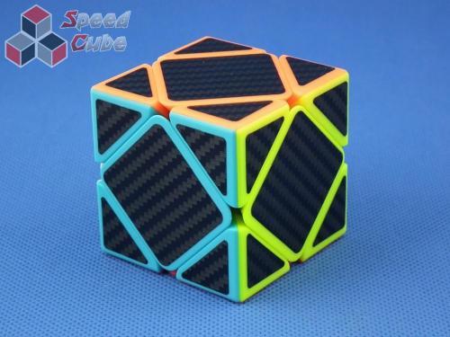 Cube Style Skewb Carbon Stick.