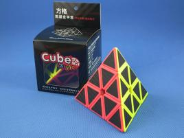 Cube Style Triumph Pyraminx Carbon Stick.