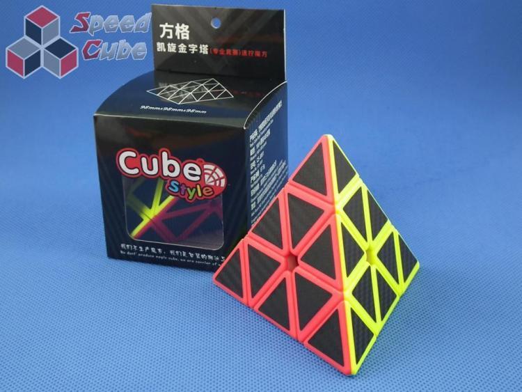 FangGe Cube Style Triumph Pyraminx Carbon Stick.