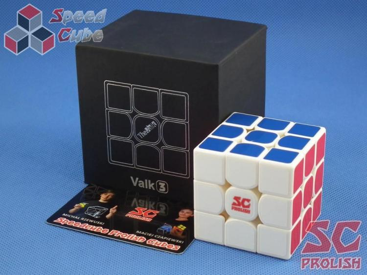 PROLISH MFG Valk 3 3x3x3 Biała High Bright