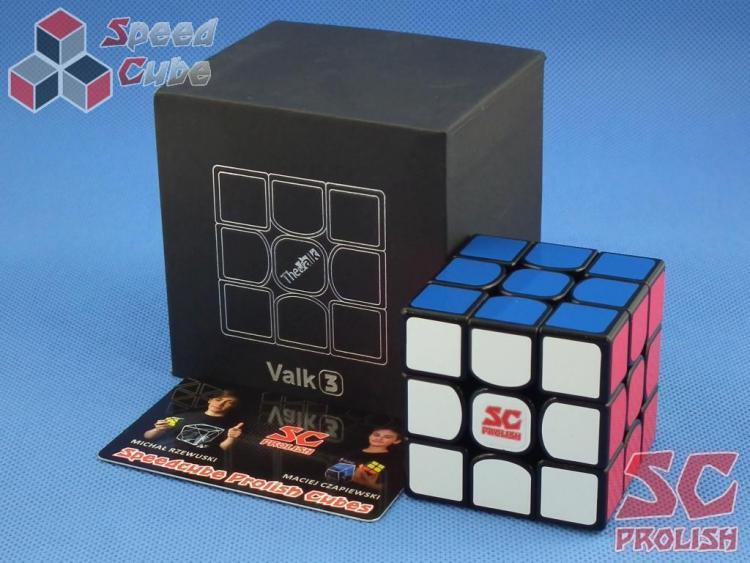 PROLISH MFG Valk 3 3x3x3 Czarna High Bright