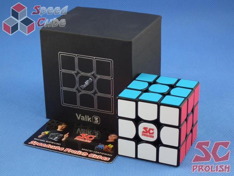 PROLISH MFG Valk 3 3x3x3 Czarna Half Bright