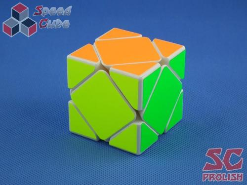 PROLISH MoYu Magnetic Skewb Biała Half Bright