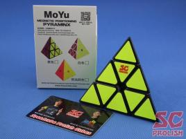 PROLISH MoYu Magnetic Pyraminx Czarna Half Bright