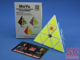 PROLISH MoYu Magnetic Pyraminx Biała Half Bright