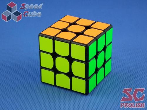PROLISH MoYu WeiLong GTS 3x3x3 Czarna Half Bright