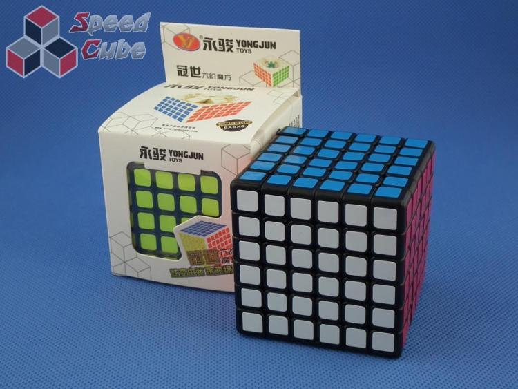 YongJun GuanShi 6x6x6 Czarna