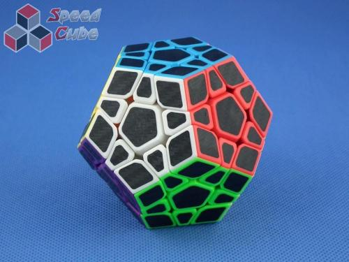 Z-Cube Megaminx Carbon Stikcers Kolorowa