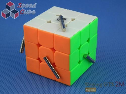 MoYu WeiLong GTS2 Magnetic 3x3x3 Kolorowa