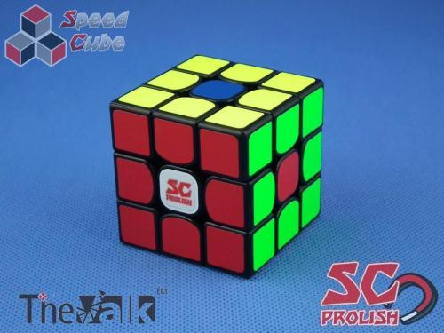 PROLISH MFG Valk 3 3x3x3 Czarna Magnetyczny