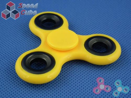 FidGet - Triple Eco Spinner Yellow