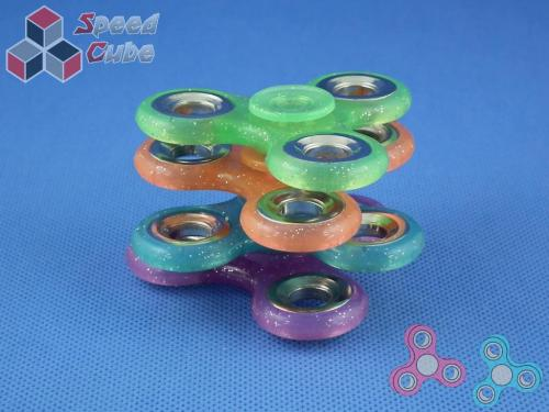 FidGet - Triple Luminos Spinner Blue