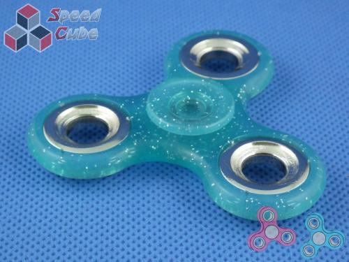 FidGet - Triple Luminos Spinner Blue