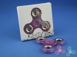FidGet - Triple Luminos Spinner Purple